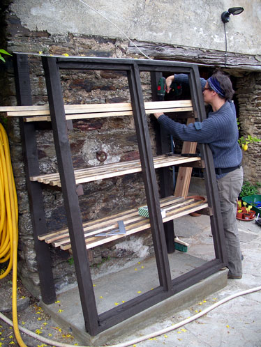 Lean to shed plans uk for Lean to greenhouse plans free