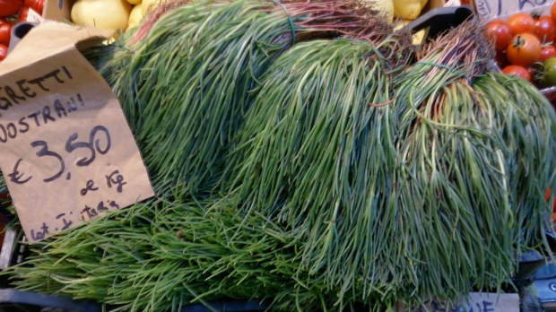Agretti for sale in Bologna Italy